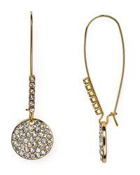 ABS By Allen Schwartz   Metallic Shepherd Drop Earrings   Lyst