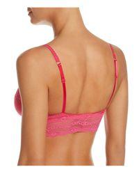 B.tempt'd | Pink Lace Kiss Bralette | Lyst