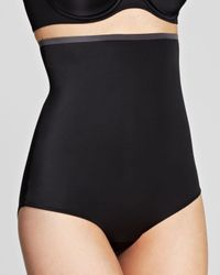 Spanx - Black Panty - New & Slimproved High-waisted #2509 - Lyst