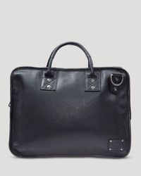 Will Leather Goods | Black Hank Satchel | Lyst