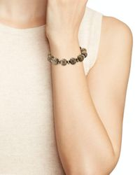 Bourbon and Boweties - Brown Stretch Bracelet - Lyst