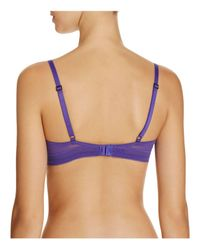 Calvin Klein | Blue Launch Tailored Contour Bra | Lyst