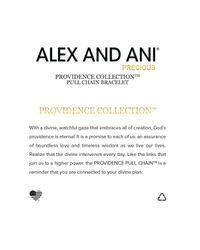 ALEX AND ANI | Metallic Precious Metals Symbolic Endless Knot Pull Chain Bracelet | Lyst
