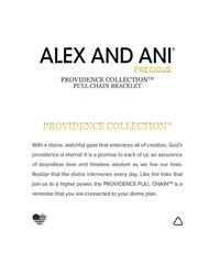 ALEX AND ANI - Metallic Precious Metals Symbolic Cross Pull Chain Bracelet - Lyst