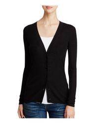 Theory | Black Sweater - Orhila Cardigan | Lyst