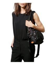 MZ Wallace - Black Lizzy Shoulder Bag - Lyst