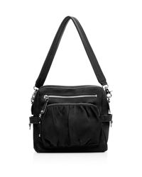 MZ Wallace - Black Lizzy Shoulder Bag - Lyst
