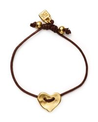 Uno De 50 | Metallic Heartleft Bracelet | Lyst