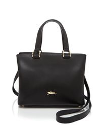 Longchamp | Black Honore 404 Small Satchel | Lyst
