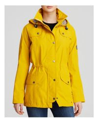 Barbour - Yellow Trevose Anorak - Lyst