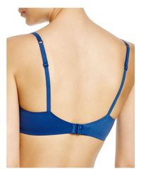 Calvin Klein Blue Perfectly Fit Modern T-shirt Bra #f3837