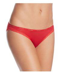 Calvin Klein   Red Bottoms Up Bikini #d3447   Lyst