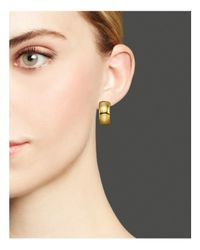 Ippolita | Metallic Glamazon® 18k Gold Small Huggie Earrings | Lyst
