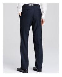 Canali | Blue Pin Dot Firenze Classic Fit Trousers for Men | Lyst