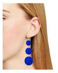 BaubleBar - Blue Crispin Drop Earrings - Lyst