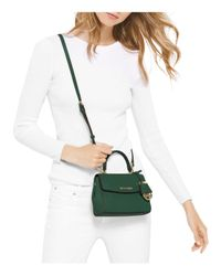 MICHAEL Michael Kors - Black Mini Ava Crossbody - Lyst