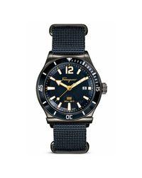 Ferragamo   Black 1898 Sport Marine Stainless Steel Watch, 43mm for Men   Lyst