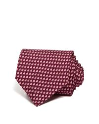 Ferragamo - Purple Snail Classic Tie for Men - Lyst