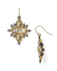 Alexis Bittar - Metallic Elements Spiked Crystal Drop Earrings - Lyst