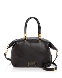 Marc By Marc Jacobs - Black New Too Hot To Handle Top Zip Satchel - Lyst