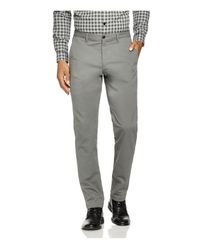 Theory | Gray Zaine Witten Slim Fit Pants for Men | Lyst