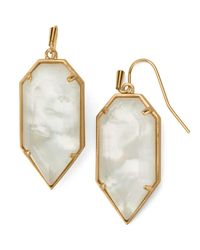 Kendra Scott - Metallic Palmer Earrings - Lyst