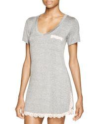 Honeydew Intimates - Gray All American Sleepshirt - Lyst