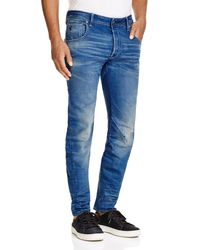 G-Star RAW | Blue Arc 3d Slim Fit Jeans In Medium Age for Men | Lyst