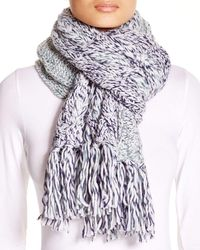 UGG | Blue Australia Grand Meadow Novelty Cable Fringe Scarf | Lyst
