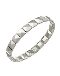 Chimento | 18k White Gold Armillas Collection Square Link Bracelet | Lyst