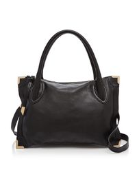 Foley + Corinna - Black Foley + Corinna Frankie Framed Satchel - Lyst