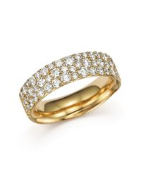 Ippolita | Metallic 18k Gold Glamazon® Stardust Pavé Ring With Diamonds | Lyst