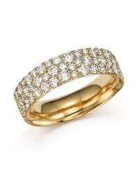 Ippolita | Metallic 18k Gold Glamazon Stardust Pave Ring With Diamonds | Lyst