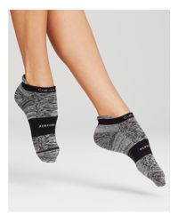 Calvin Klein | Black Active Liner Ankle Socks | Lyst