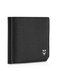 MCM - Natural Bric Money Clip Wallet for Men - Lyst