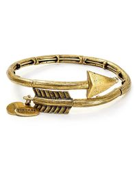 ALEX AND ANI | Metallic Lovestruck Wrap Bangle | Lyst