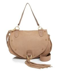 See By Chloé Natural Collins Saddle Bag