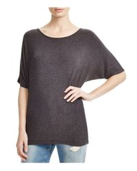 Vince | Gray Heathered Dolman Tee | Lyst