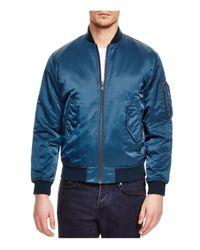 BLK DNM Blue Bomber Jacket - 100% Bloomingdale's Exclusive for men