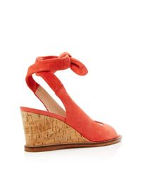 Bettye Muller - Multicolor Playlist Ankle Tie Wedge Sandals - Lyst