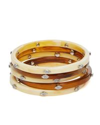 Pink Pony - Natural Lauren Bangles, Set Of 5 - Lyst