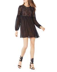 BCBGMAXAZRIA - Brown Kitra Dress - Lyst