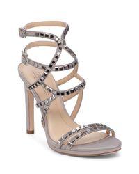 Imagine Vince Camuto - Gray Gem Strappy High Heel Sandals - Lyst