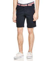 Superdry Black International Chino Shorts for men