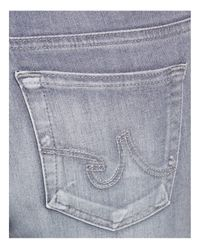 AG Jeans - Blue Legging Ankle Jeans In 3 Years Cool Grey - Lyst