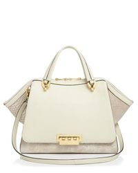Zac Zac Posen - Natural Eartha Jumbo Double Handle Satchel - Lyst