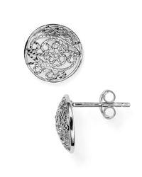 Argento Vivo - Metallic Modern Gypsy Stud Earrings - Lyst