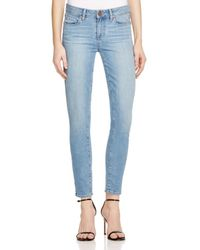 PAIGE - Blue Denim Verdugo Ankle Jeans In Bevin - Lyst