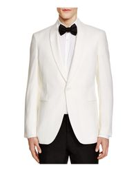 Theory | White Weller Shawl Collar Jacket - 100% Exclusive for Men | Lyst
