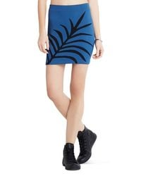 BCBGeneration - Blue Seamless Skirt - Lyst